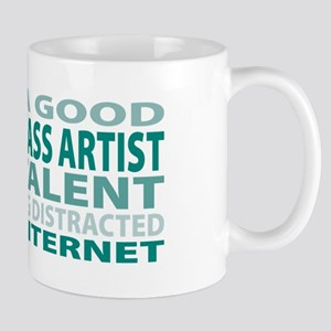 Good Stained Glass Artist Mug
