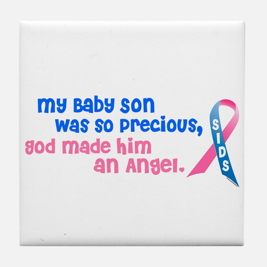 Angel 1 (Baby Son) Tile Coaster