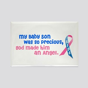 Angel 1 (Baby Son) Rectangle Magnet