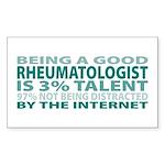 Good Rheumatologist Rectangle Sticker 10 pk)