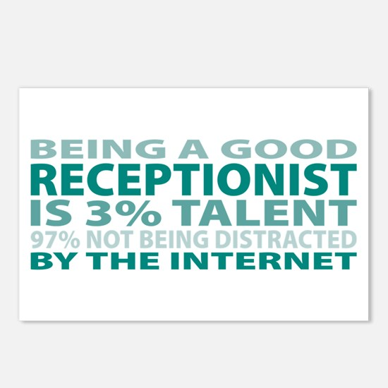 Good Receptionist Postcards (Package of 8)