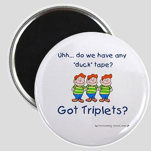 Got Triplets? - 3 Boys Duck T Magnet
