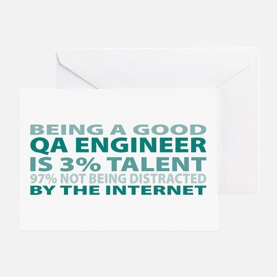 Good QA Engineer Greeting Card