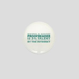 Good Proofreader Mini Button