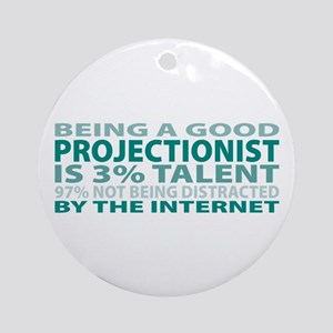 Good Projectionist Ornament (Round)