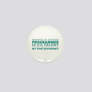 Good Programmer Mini Button