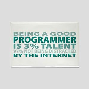 Good Programmer Rectangle Magnet