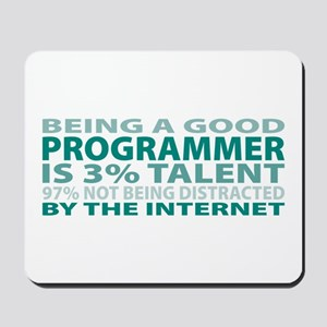 Good Programmer Mousepad