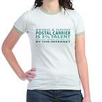 Good Postal Carrier Jr. Ringer T-Shirt