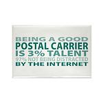 Good Postal Carrier Rectangle Magnet (100 pack)