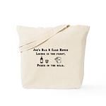 Joe's Bar & Card House. Liqu Tote Bag