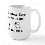 Joe's Bar & Card House. Liqu Large Mug