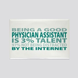Good Physician Assistant Rectangle Magnet