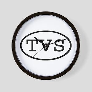TVS Oval Wall Clock