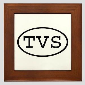 TVS Oval Framed Tile
