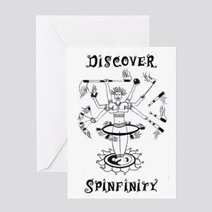 Discover Spinfinity Greeting Card