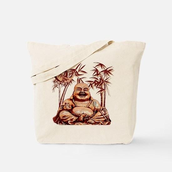 Riyah-Li Designs Happy Buddha Tote Bag