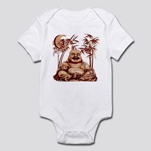Riyah-Li Designs Happy Buddha Infant Bodysuit