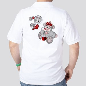 BLOWING BUBBLES Golf Shirt