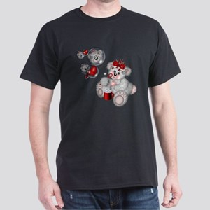 BLOWING BUBBLES Dark T-Shirt