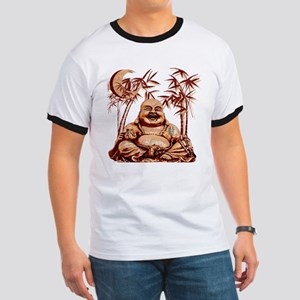 Riyah-Li Designs Happy Buddha Ringer T