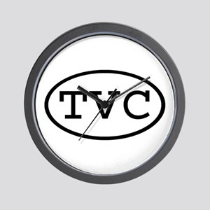 TVC Oval Wall Clock