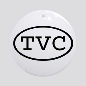 TVC Oval Ornament (Round)