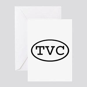 TVC Oval Greeting Card