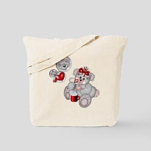 BLOWING BUBBLES Tote Bag