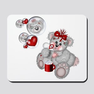 BLOWING BUBBLES Mousepad