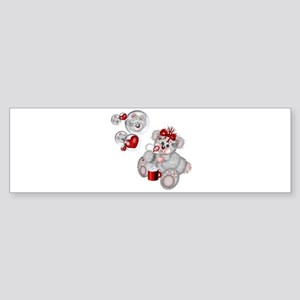 BLOWING BUBBLES Bumper Sticker