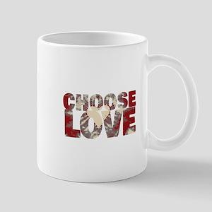 CHOOSE LOVE Mugs