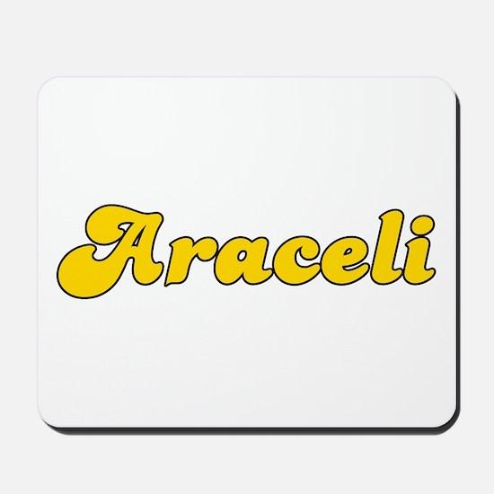 Retro Araceli (Gold) Mousepad