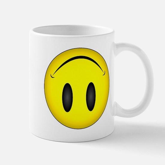 Upside Down Happy Face Mug