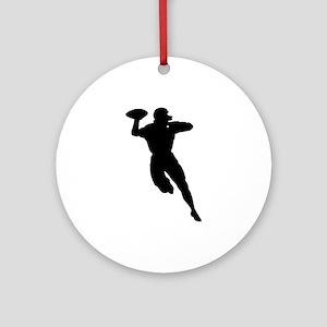 Football Player Keepsake (Round)