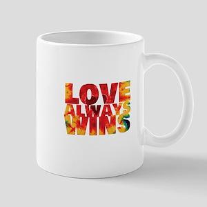 LOVE ALWAYS WINS Mugs
