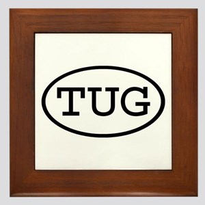 TUG Oval Framed Tile