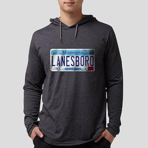 Lanesboro License Plate Long Sleeve T-Shirt