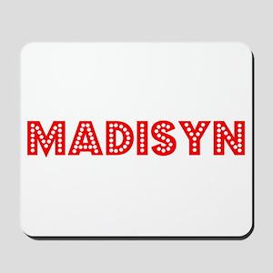Retro Madisyn (Red) Mousepad