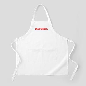 Retro Madonna (Red) BBQ Apron