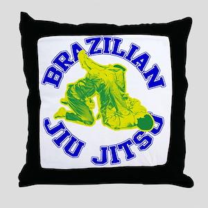 Brazilian Jiu Jitsu Throw Pillow