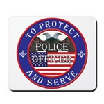 Mason Police Officer Mousepad