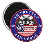 Mason Police Officer Magnet