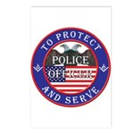 Mason Police Officer Postcards (Package of 8)