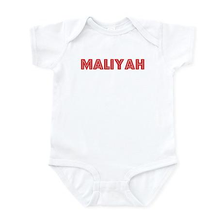Retro Maliyah (Red) Infant Bodysuit