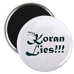 The Koran Lies Magnet