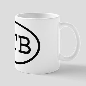TTB Oval Mug