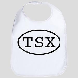 TSX Oval Bib