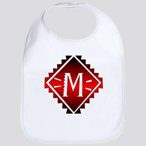 Aztec Plate M Bib