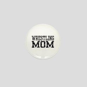 Wrestling Mom Mini Button